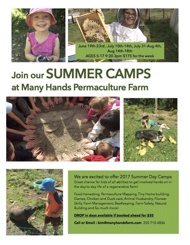 Many Hands Farm 2017 Permaculture Camp